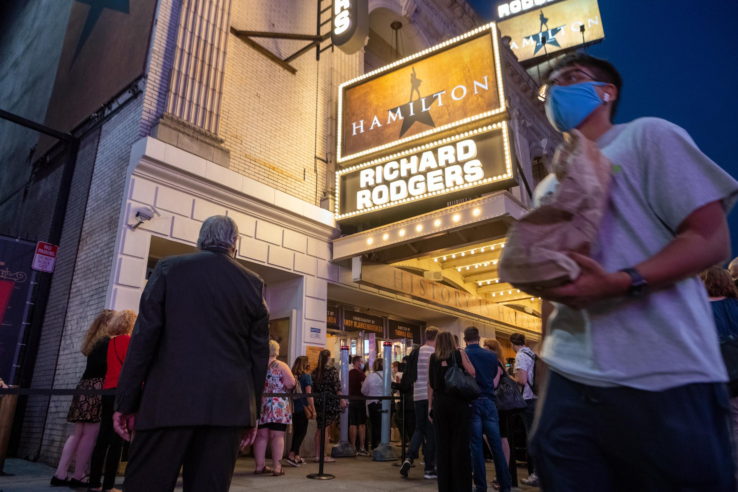 'Hamilton' Black transgender cast member files complaint against the musical