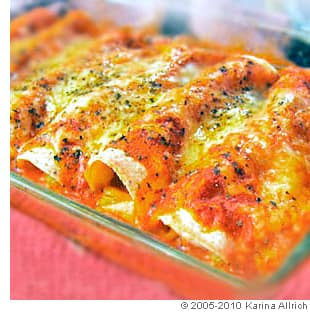 Picture of Easy Sour Cream Chicken Enchiladas