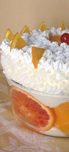 Soufflé glacé all'arancia
