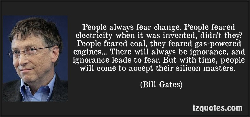 Don 39 T Fear Change People Quotes