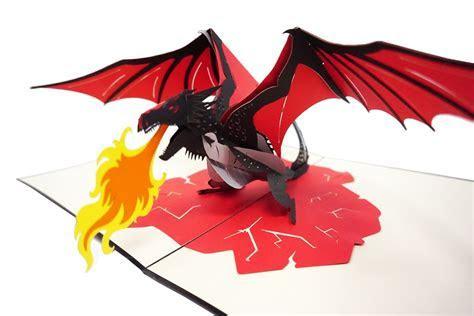 Dragon Fire   WOW 3D Pop Up Card ? WOW Pop Up Card
