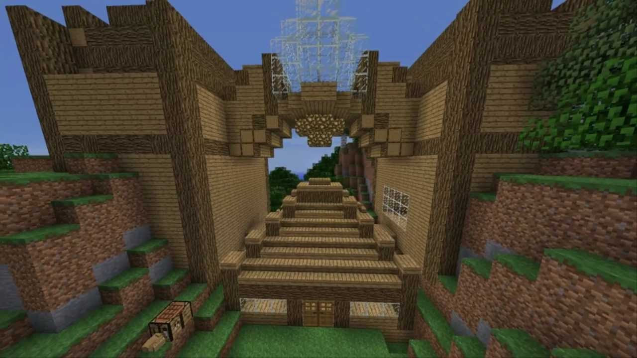 How to build your own PRO mansion in minecraft - YouTube
