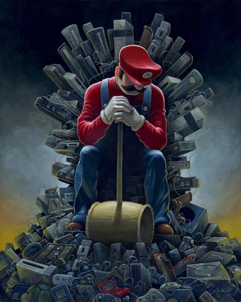 Mario Thrones