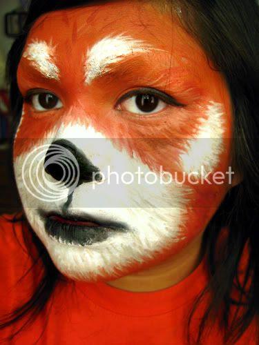 Kyuubified's Ramblings: Red Panda Face Painting