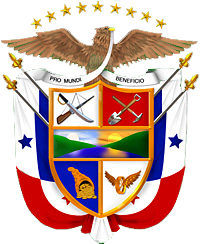 Panama Wappen von WikiCommons