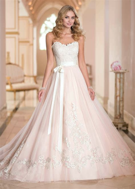 say yes to the dress season blush lazaro dress   Google