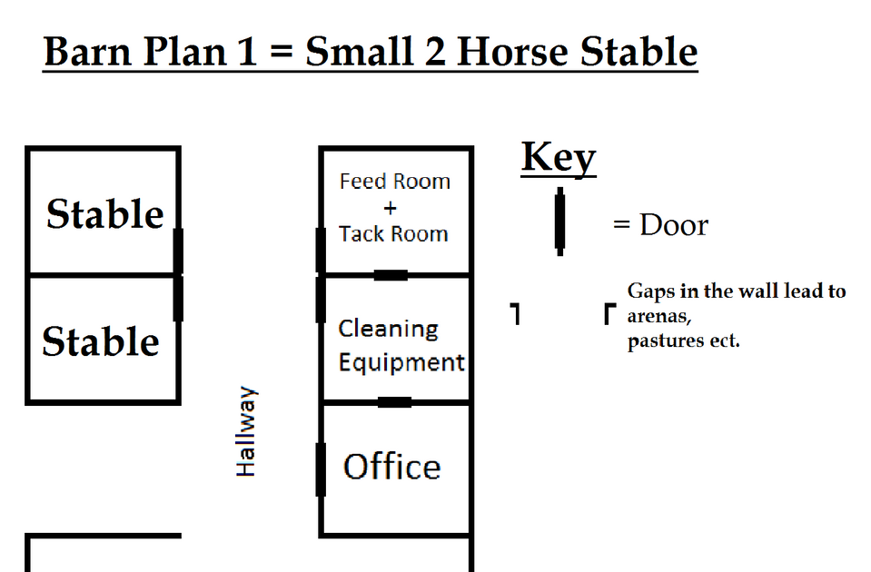 barn plans stable designs building plans for horse - 959×630