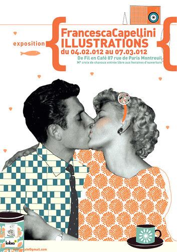 Ailoviu Exhibition in Paris! by la casa a pois