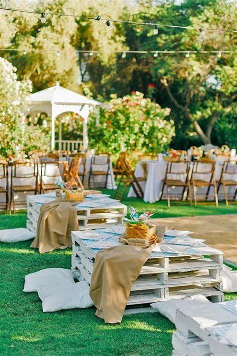 25 Fun Outdoor Picnic Wedding Ideas to Copy   Deer Pearl