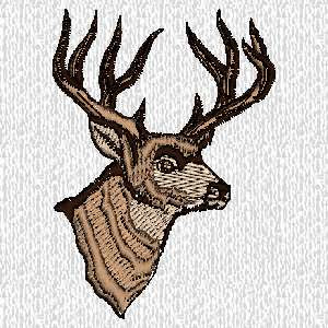 Accent Embroidery Nature Outdoors Hunting Guns Designs P2
