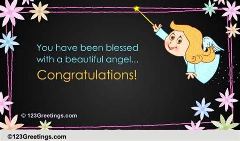 You Have Been Blessed! Free New Baby eCards, Greeting