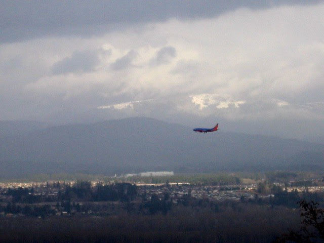 north from rocky butte