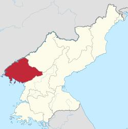 Pyonganbuk-do in North Korea.svg