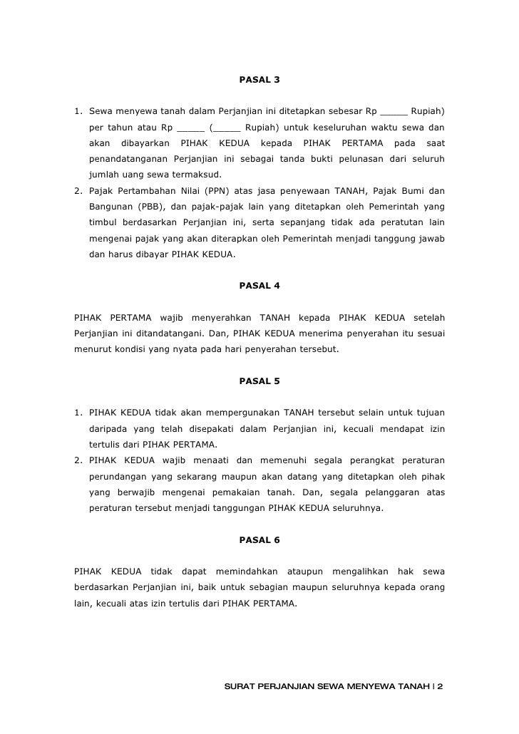Contoh Surat Pernyataan Cerai Nikah Siri - Contoh Niat