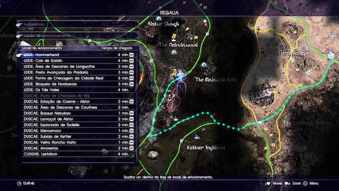 Final Fantasy XV: siga à garagem Hammerhead, o primeiro local seguro descoberto (Foto: Reprodução/Victor Teixeira)