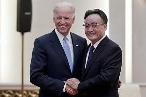 """Il vicepresidente Biden in visita a Pechino """"Su Tibet e Taiwan appoggio alla Cina"""""""