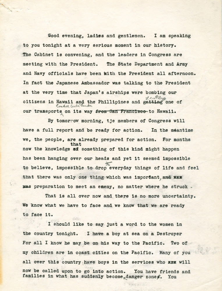 Eleanor Roosevelt Papers. FDR Library.