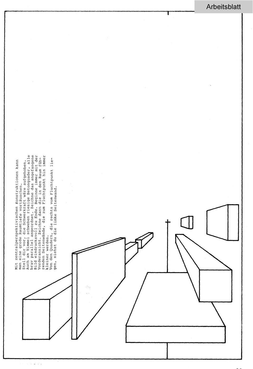 Fenster Zeichnen Mit Fluchtpunkt