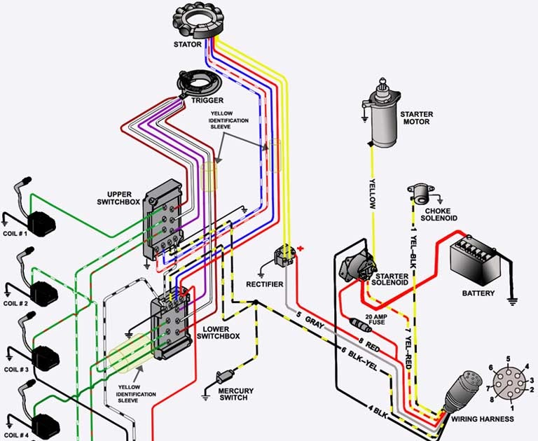 33 Mercury Outboard Wiring Diagram Schematic