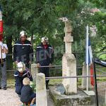 Beaunotte | Commémoration au monument de Pierre Naudin et Georges Rey