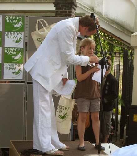 Mark from Kew Traders Association & assistant - Greener Kew
