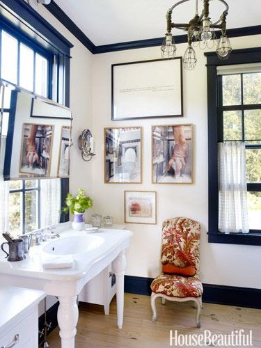 Bathroom Decor Ideas My Sweet Savannah Love The Little Touch Of Bling Added To This Vintage
