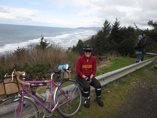 Posing at Anderson Viewpoint