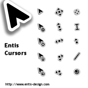 21 most beautiful mouse cursors for Windows - Instant Fundas