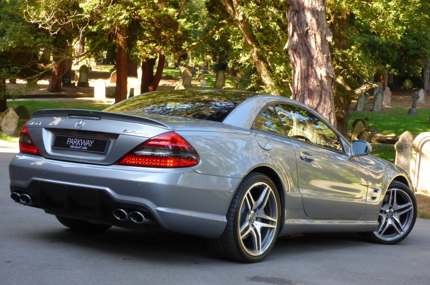 MERCEDES BENZ SL63 AMG V8 CONVERTIBLE
