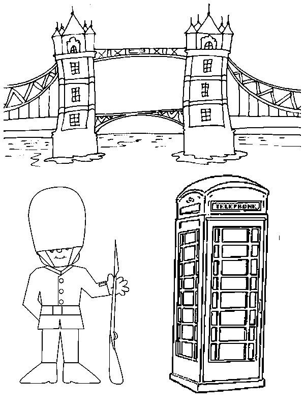 Dibujos Para Colorear Europa Morning Kids