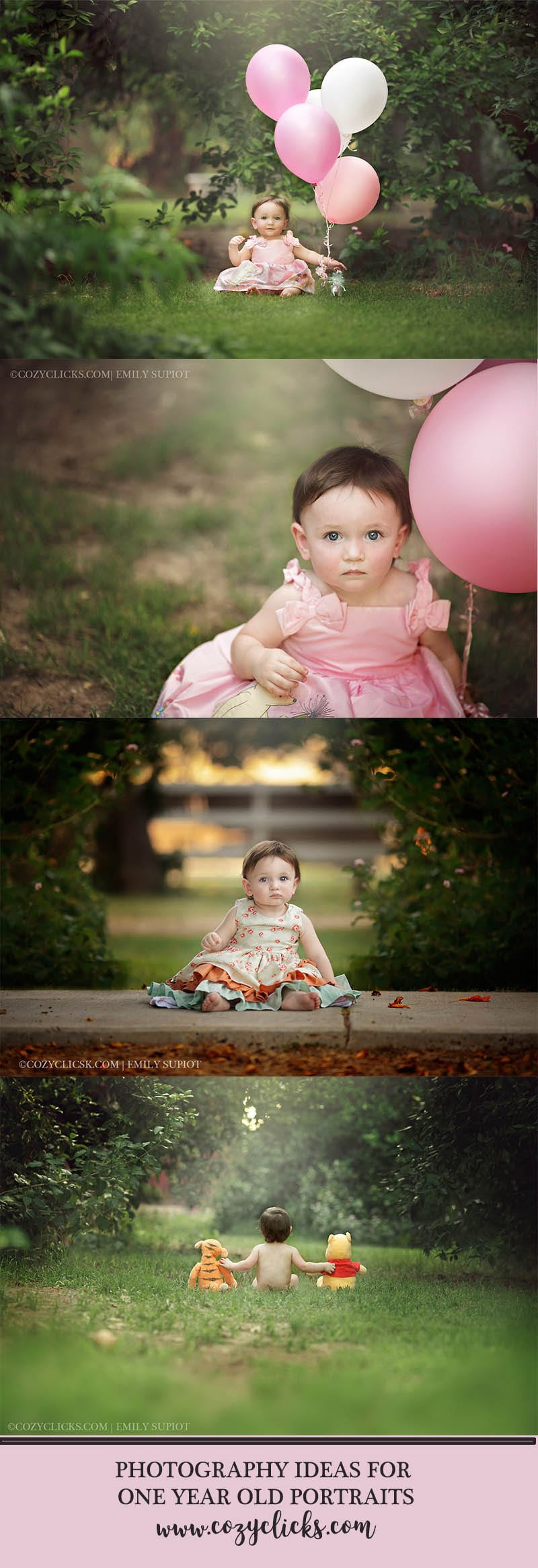 Photography Ideas For One Year Old Portraits Cozy Clicks