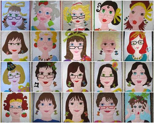 """My """"girls"""" from 2011 in my Ladies Series plus Flossie #20"""