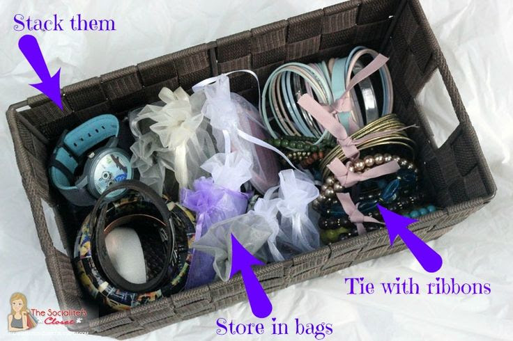 How to Store Bracelets #jewelry #tips #fashion