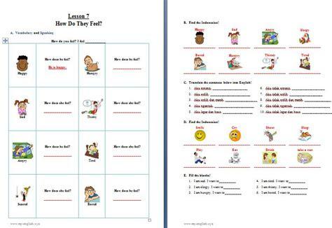 materi bahasa inggris  sd kelas  pelajaran