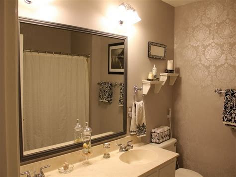 stunning small bathroom ideas with cool bathroom mirrors ideas also classic wall lights and