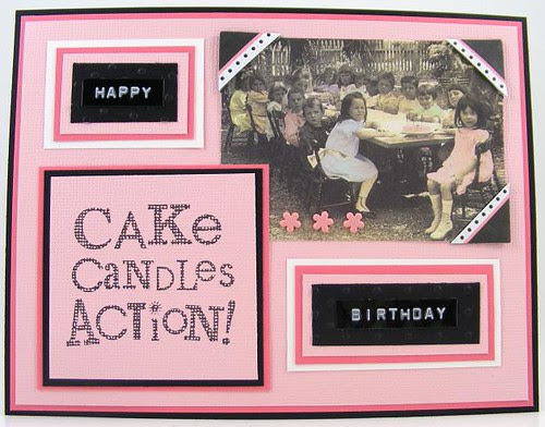 Cake Candles Action Card