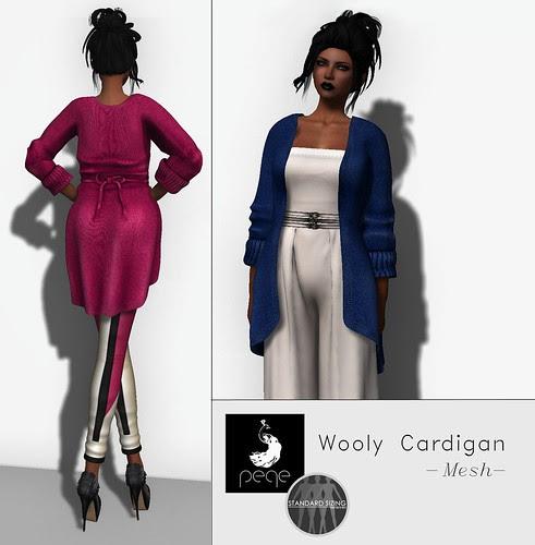 Peqe - Wooly Cardigan
