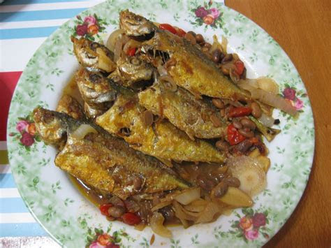 resepi nannie ikan masak taucu
