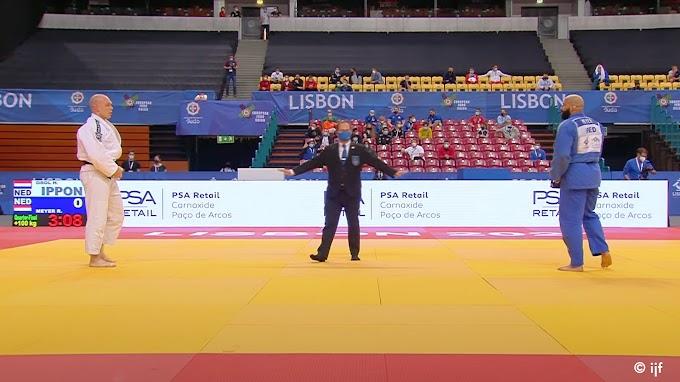 Hommeles op de judomat: Nederlanders maken er bijna straatgevecht van op EK