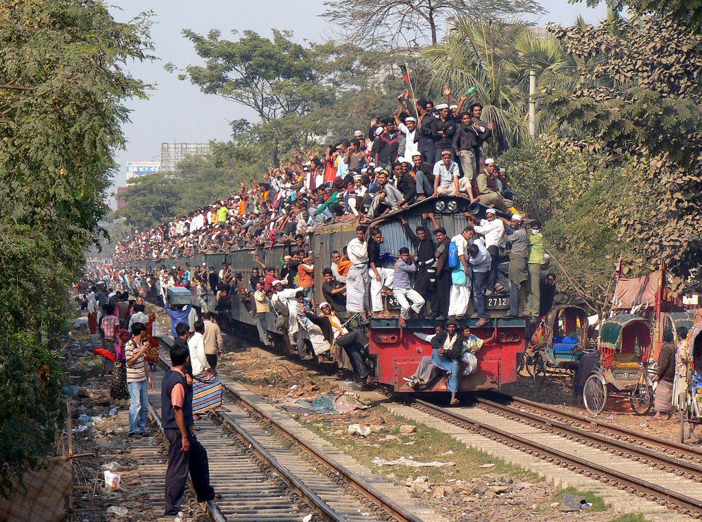 Todos a bordo para Bangladesh - Biswa Ijtema 2014 01