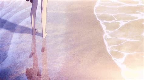 anime gif sea anime scene oboi