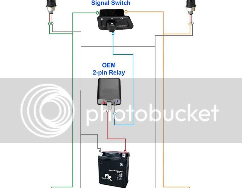 35 Beautiful 3 Pin Led Flasher Relay Wiring Diagram