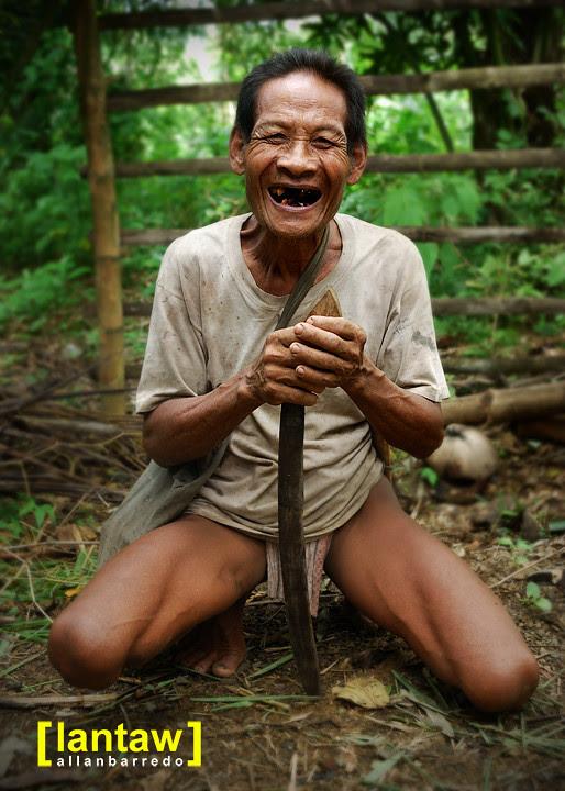 Hanunoo Mangayan Elder: Toothless Smile