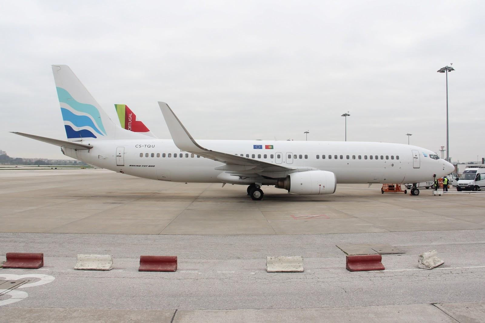 Med-View Airlines 737-800 CS-TQU