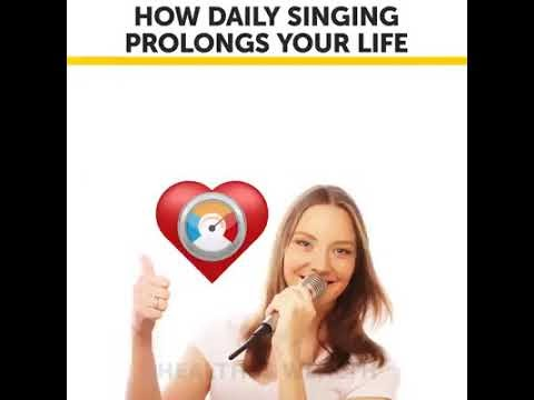 How daily singing prolongs your life?