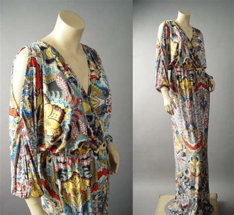 colorful moroccan exotic print caftan style long maxi