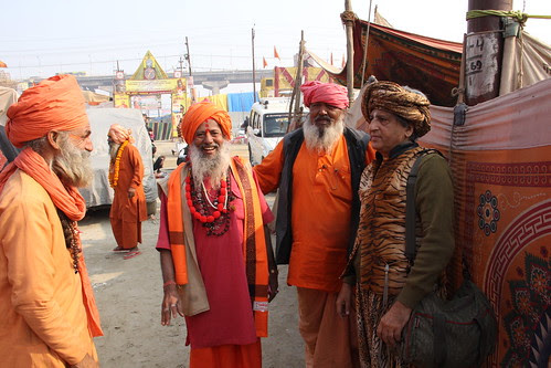 A Malang With The Naga Sadhus Juna Akhada by firoze shakir photographerno1