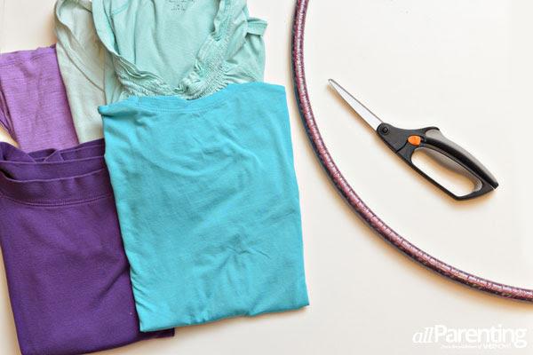 Hula Hoop υλικά χαλί