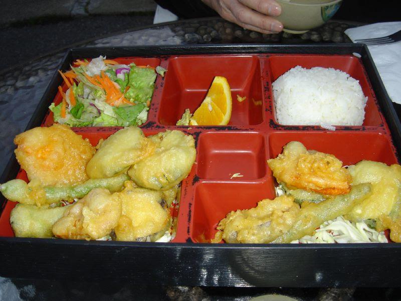 Tempura Vegetables Dinner