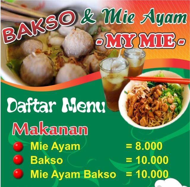 Desain Banner Menu Makanan - desain banner kekinian